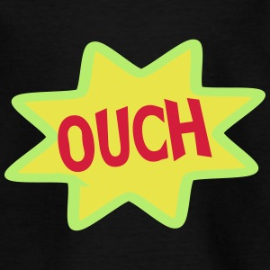 Comic Ausrufe, Ausruf, Cartoon, Ouch T-Shirts - Kinder T-Shirt