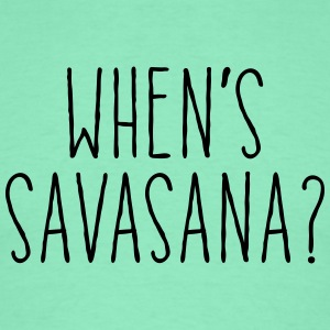 When's Savasana T-skjorter - T-skjorte for menn