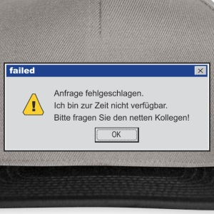 Error_Message Caps & Mützen - Snapback Cap