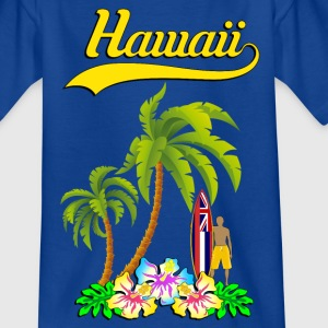 hawaii surf team 02 Tee shirts - T-shirt Enfant