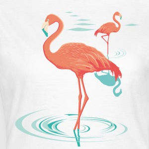 T-shirt flamant rose - Pink flamingo - T-shirt Femme