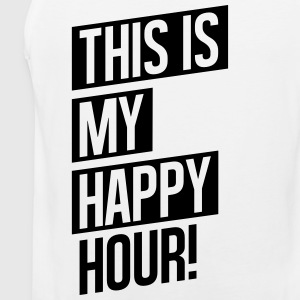 THIS IS MY HAPPY HOUR! Tank Tops - Männer Premium Tank Top