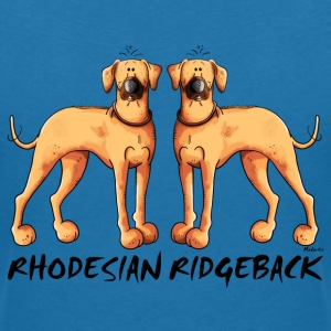 Two Rhodesian Ridgeback T-Shirts - Women's V-Neck T-Shirt