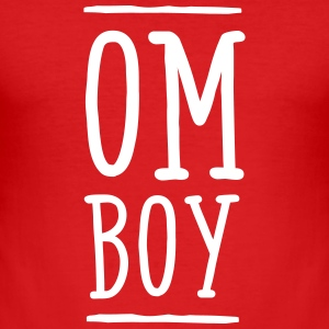Om Boy T-shirts - Herre Slim Fit T-Shirt
