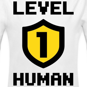 Level 1 human Baby-bodyer - Baby langærmet body