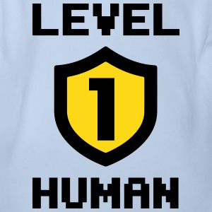 Level 1 human Magliette - Body per neonato