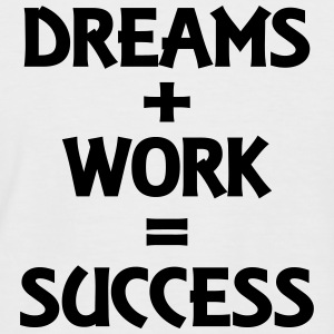 Dreams+Work=Success T-Shirts - Men's Baseball T-Shirt