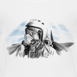 Fighter pilot Shirts - Kids' Premium T-Shirt
