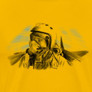 Fighter pilot T-Shirts - Men's Premium T-Shirt