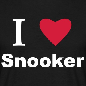 I Love Snooker T-Shirts - Men's T-Shirt