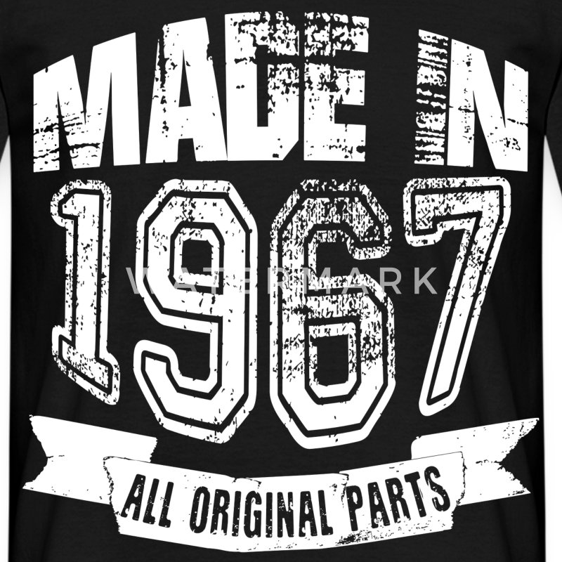 Made in 1967 - Camiseta hombre