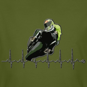 moto passion by CS Tee shirts - T-shirt bio Homme