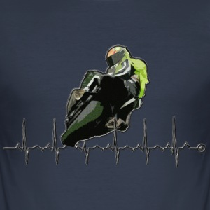 moto passion by CS Tee shirts - Tee shirt près du corps Homme