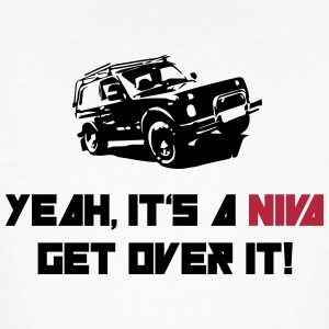 It's a NIVA get over it! T-Shirts - Männer Bio-T-Shirt
