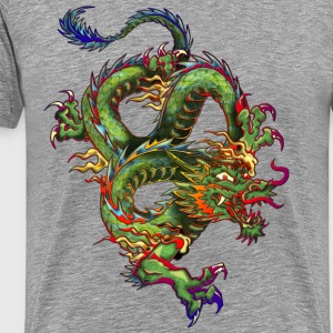 DRAGON BY cs Tee shirts - T-shirt Premium Homme