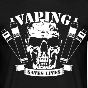 Vaping Saves Lives T-Shirt - T-shirt herr