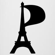 Motif ~ Chope de bière Tour Eiffel pirate