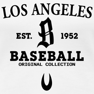 Los Angeles Baseball T-Shirts - Frauen Premium T-Shirt
