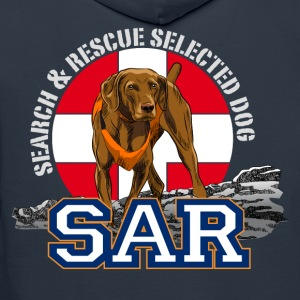 search and rescue dog 1 Hoodies & Sweatshirts - Men's Premium Hoodie