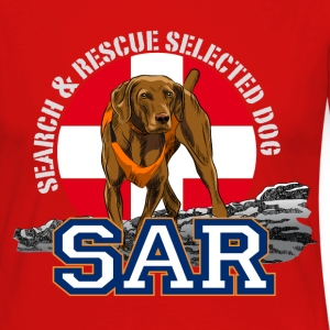 search and rescue dog 1 Long Sleeve Shirts - Women's Premium Longsleeve Shirt