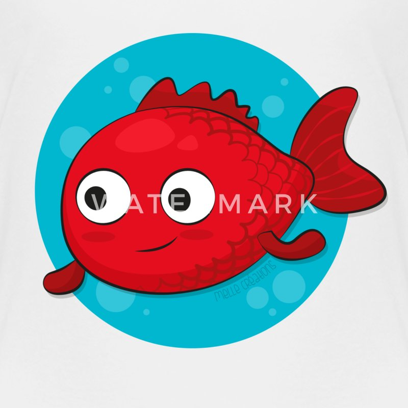 Tee shirt petit poisson rouge spreadshirt for Petit poisson rouge