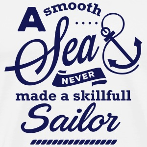 a smooth sea T-Shirts - Männer Premium T-Shirt