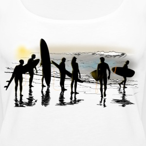 surfing Tops - Women's Premium Tank Top