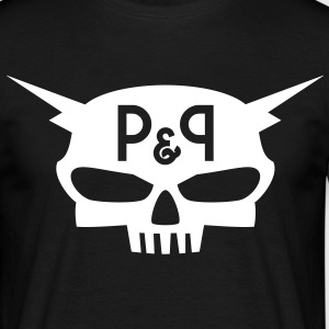 P&P wearz - Skull Time - T-shirt Homme