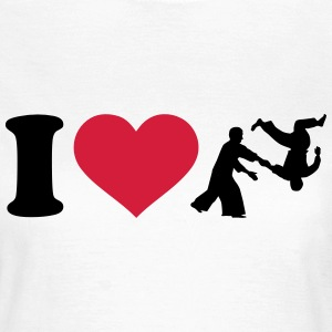 I love Aikido T-Shirts - Frauen T-Shirt