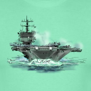 aircraft carrier T-Shirts - Men's T-Shirt