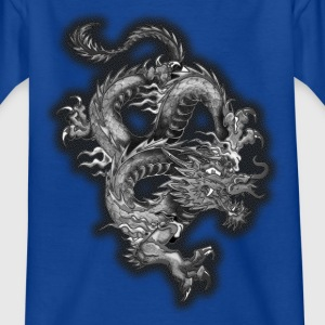dragon half stone v2 by D Tee shirts - T-shirt Enfant