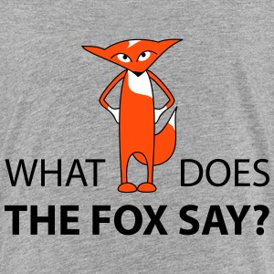 what does the fox say  Shirts - Kinderen Premium T-shirt