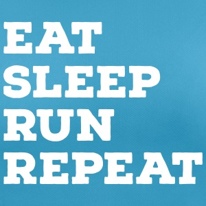 Eat, Sleep, Run, Repeat Magliette - Maglietta da donna traspirante
