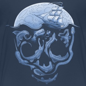 Below T-Shirts, Totenkopf T-Shirts - Kinder Premium T-Shirt