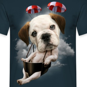 BULLDOG PARACHUTING - Men's T-Shirt