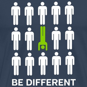 Be Different (Handstand) T-shirts - Premium-T-shirt herr