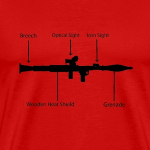 Remote Propelled Grenade T-Shirts - Men's Premium T-Shirt