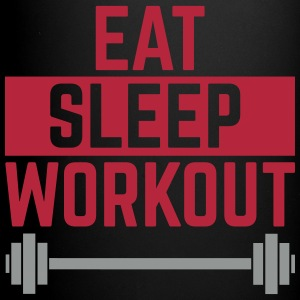 Eat Sleep Workout  Mokken & toebehoor - Mok uni