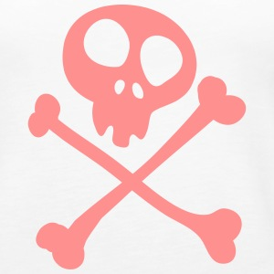 Pirat (Totenkopf) Tops - Frauen Premium Tank Top