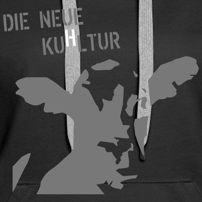 """Kapuzenpulli """"Kuhltur"""" Girlie"""