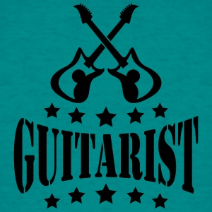 Guitariste guitare Electro Logo Tee shirts - T-shirt Homme
