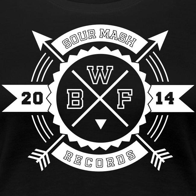 Frauen Premium T-Shirt // BWF 2k14 (Logo weiß)