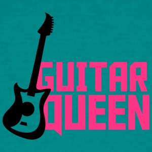 Gitar Queen Design T-skjorter - T-skjorte for menn