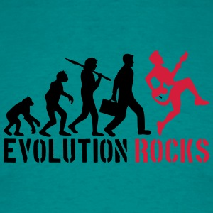 Evolution stenar T-shirts - T-shirt herr