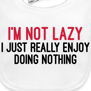 I'm Not Lazy Accessories - Baby Organic Bib