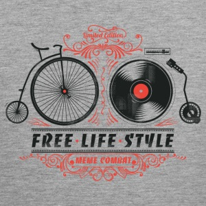 Heather grey Heather grey Free-Life-Style Tops Tank Tops - Men's Premium Tank Top