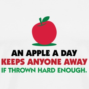 An apple a day keeps everyone away! T-Shirts - Men's Premium T-Shirt