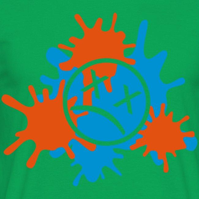 Splatter-Zweifarbig (Flexdruck)