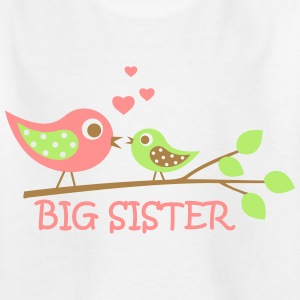 Big Sister bird T-Shirts - Teenager T-Shirt