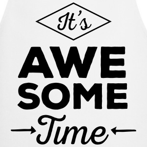 It's Awesome Time Kookschorten - Keukenschort